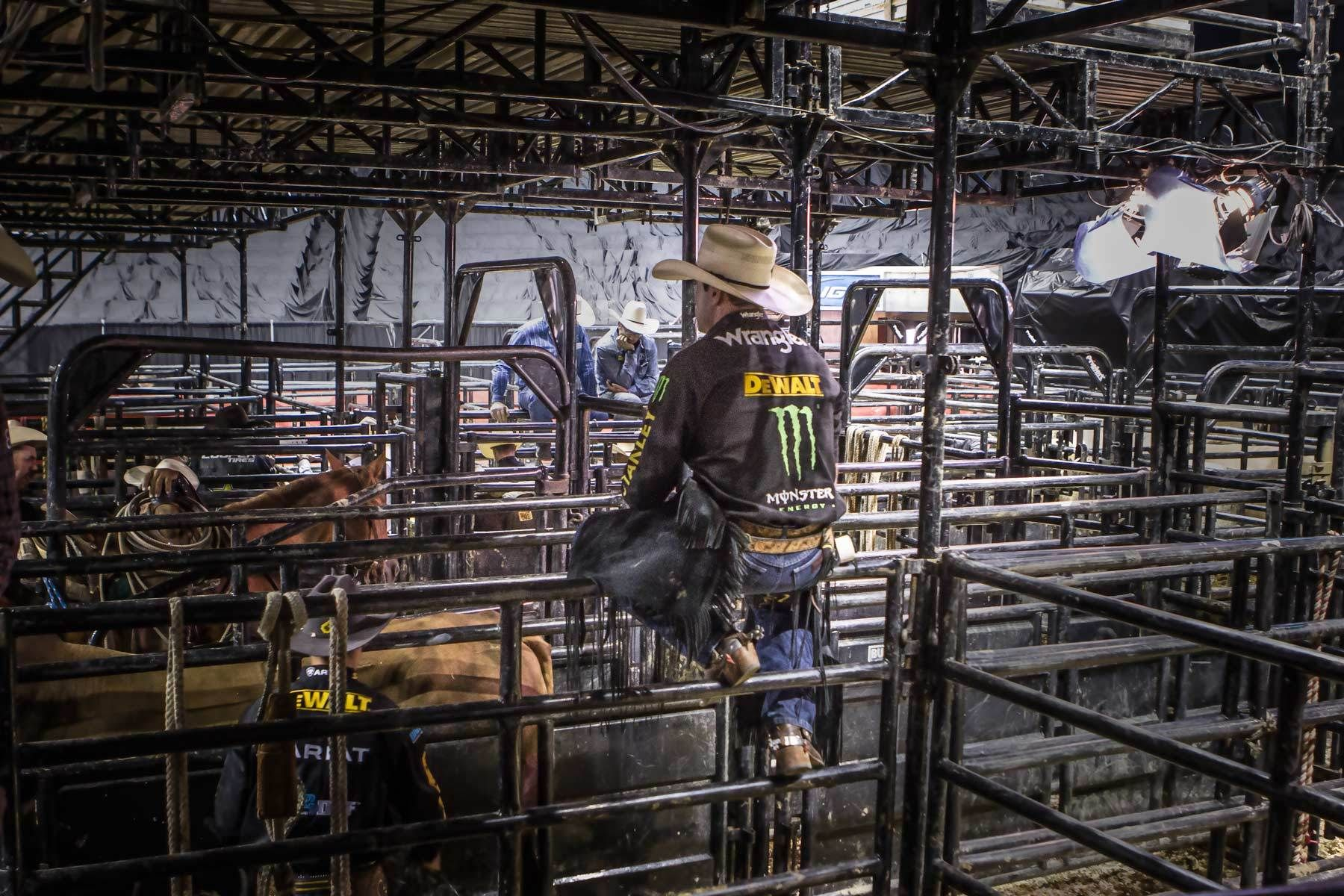 editorial portrait photographer and bull rider