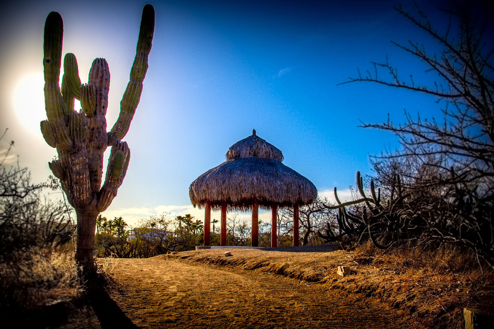 cabo_isolated_tropical_thatch_roof_hut travel photography