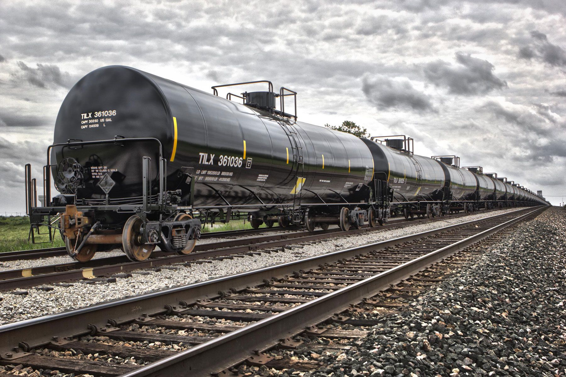 Railcar industrial Photography Dallas