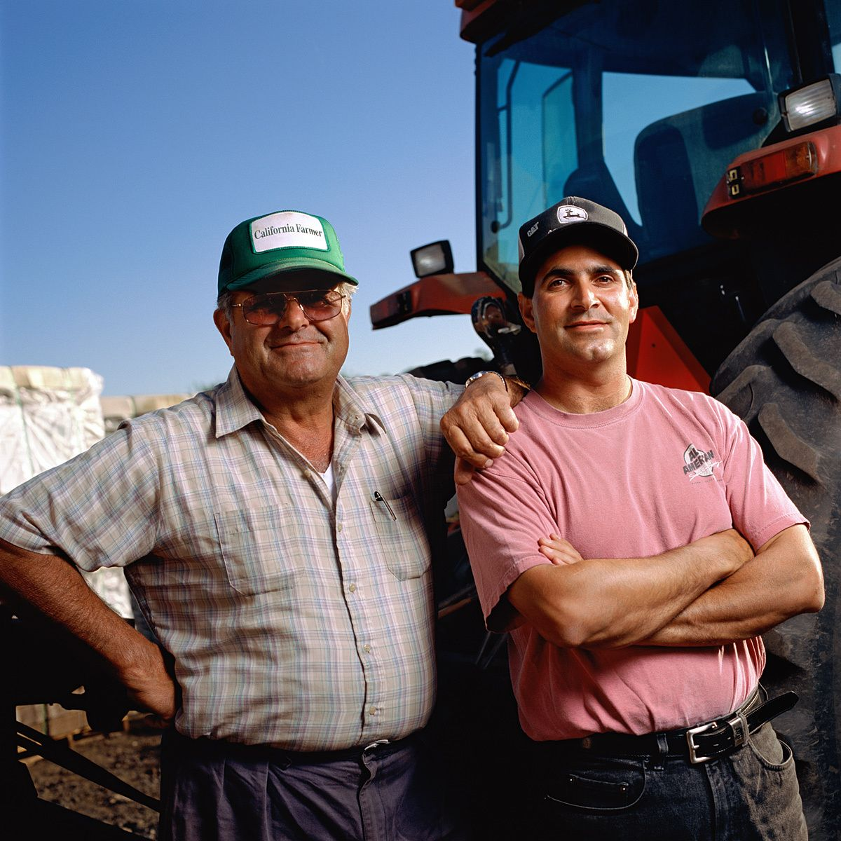 Louie and Mike Iacopi.Pea growers, Half Moon Bay, CA.