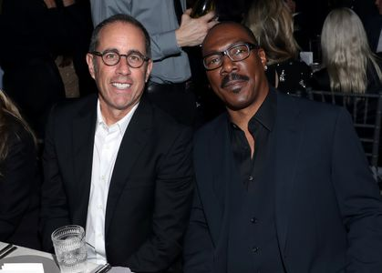 Jerry Seinfeld and Eddie Murphy