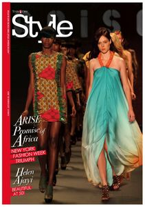 THISDAY Newspaper Sunday Style Magazine Cover