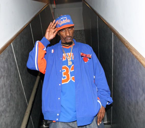 Rakim at the Art of Rap after party, highline Ballroom, June 13, 2012, NYC(Bennett Raglin/WireImage).