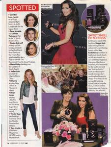 Kim Kardashian, OK Magazine, February 22, 2010