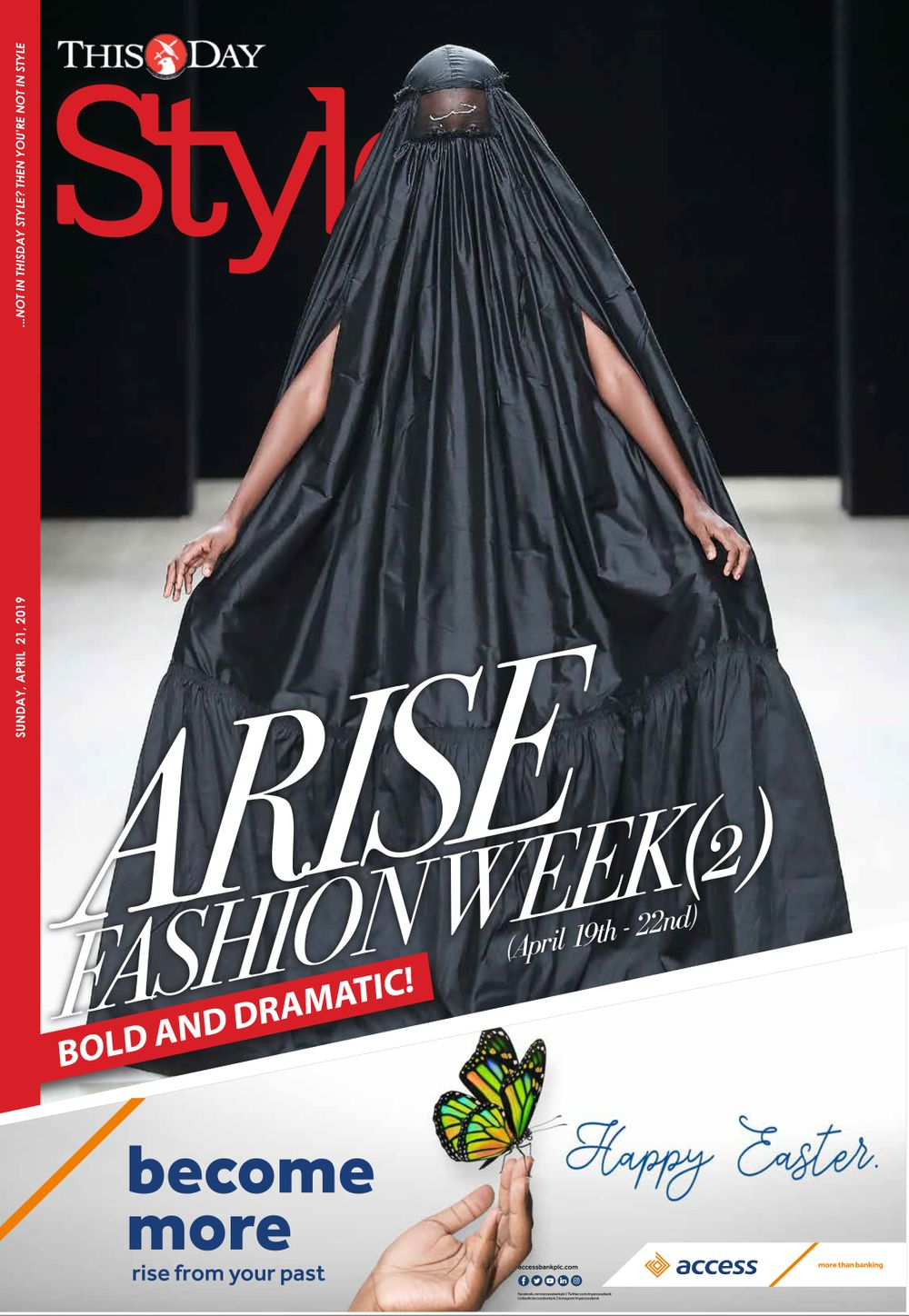 2019 ARISE FASHION WEEK
