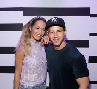 Rita Ora and Nick Jonas