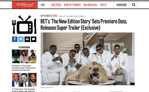 New Edition Story: Home Again Ablum cover (Photo by Bennett Raglin) HollywoodReporter.com