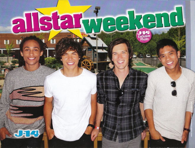 All-Star Weekend, J-14 Magazine, September 2011, Photo by Bennett Raglin