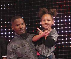 Jamie Foxx and daughter