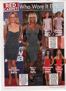 Mary J. Blige, US Weekly, August 8, 2011