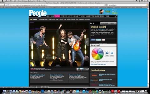 Lady Antebellum, People.com, May 4, 2012