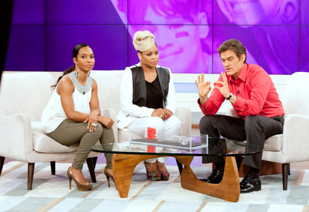 Chili, T-Boz and Dr. Oz