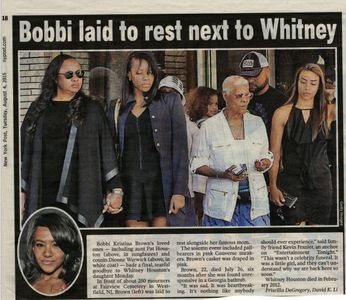Dionne Warrick, August 4, 2015, New York Post