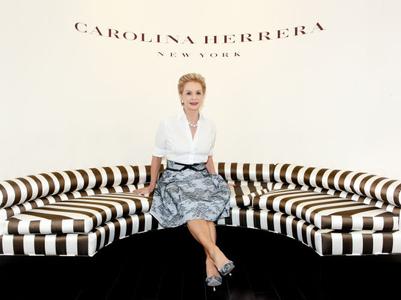 Designer Carolina Herrera