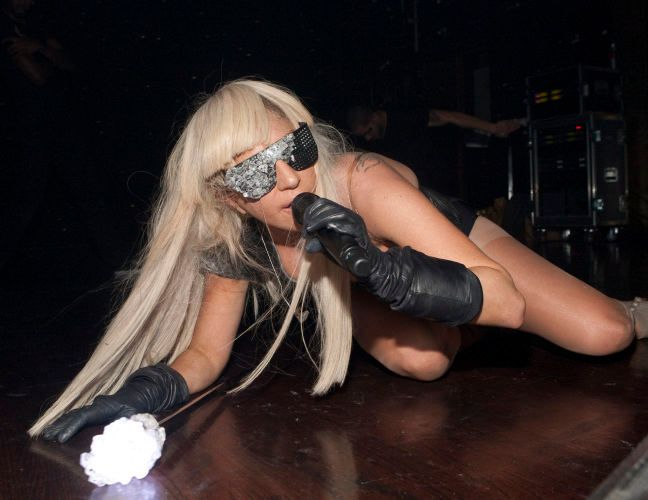 Lady Gaga, Webster Hall, January 1, 2009, NYC.(Photo by Bennett Raglin)