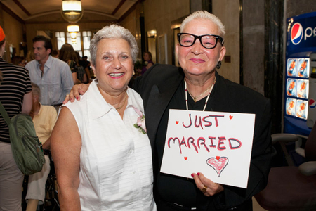 First Day Of Legal Same-Sex Marriage In New York State