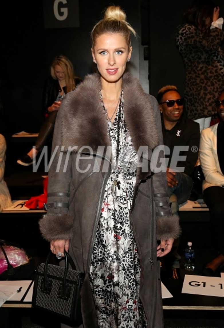 Niki-Hilton Fashion Week