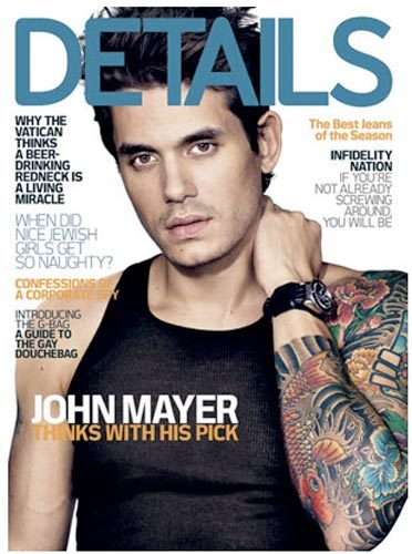 John Mayer- Details Magazine