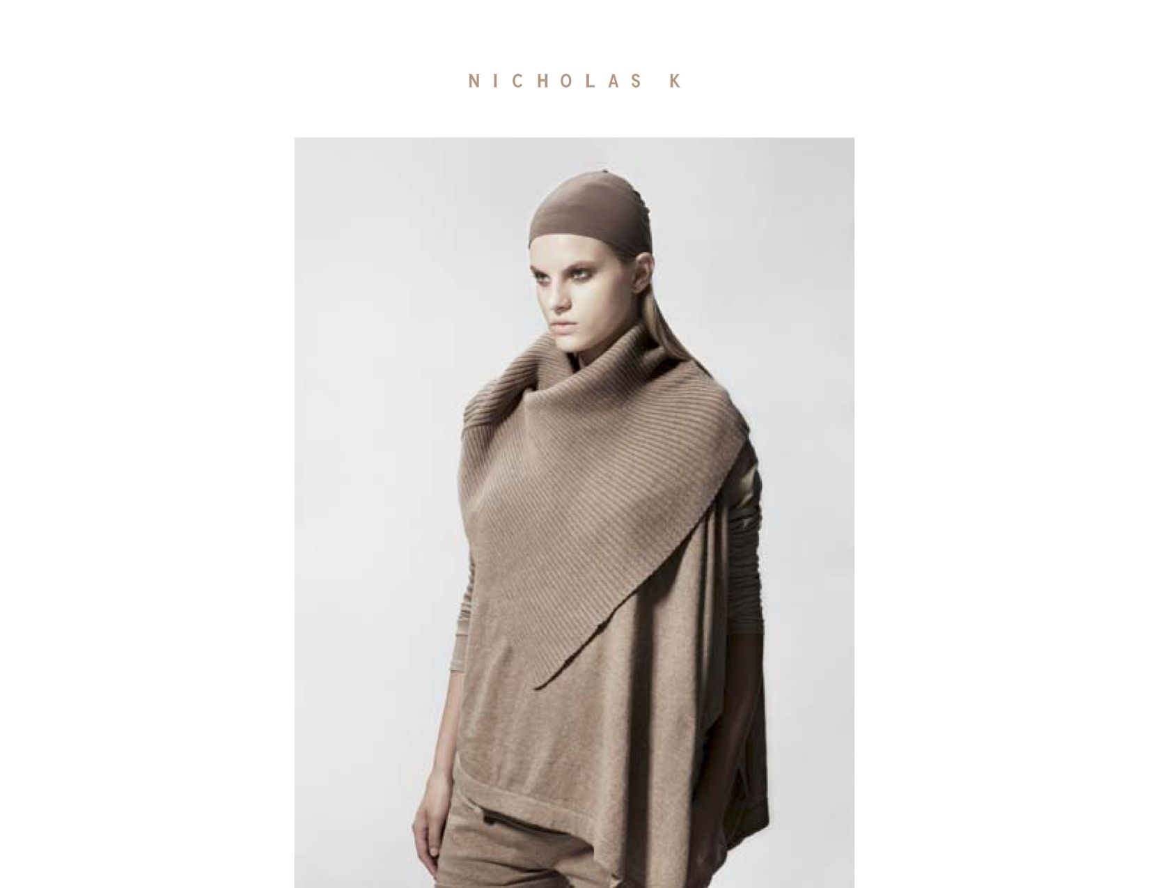 Nicholas K, lookbook,