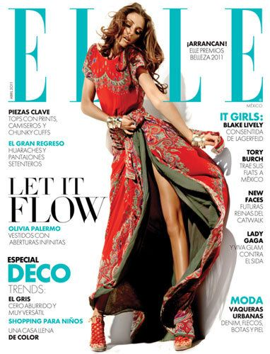 Elle Mexico, cover & editorial,