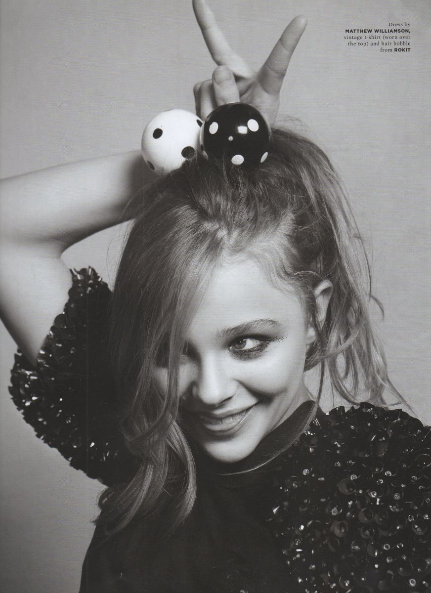 Wonderland, Chloe Moretz,  editorial,