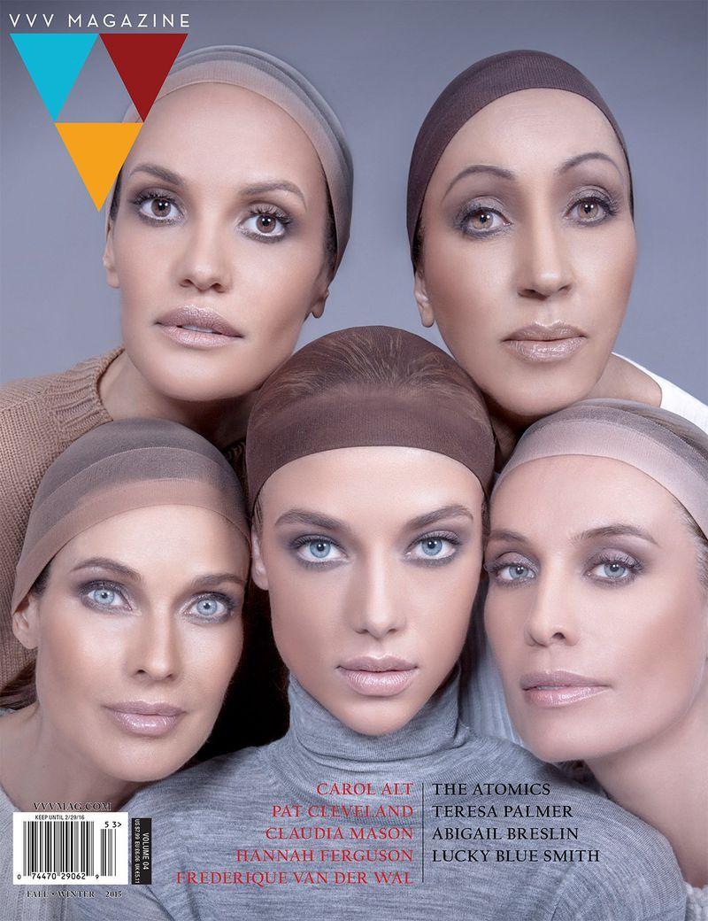 VVV, cover & editorial,