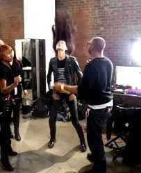 Behind the scenes, Costello Tagliapietr
