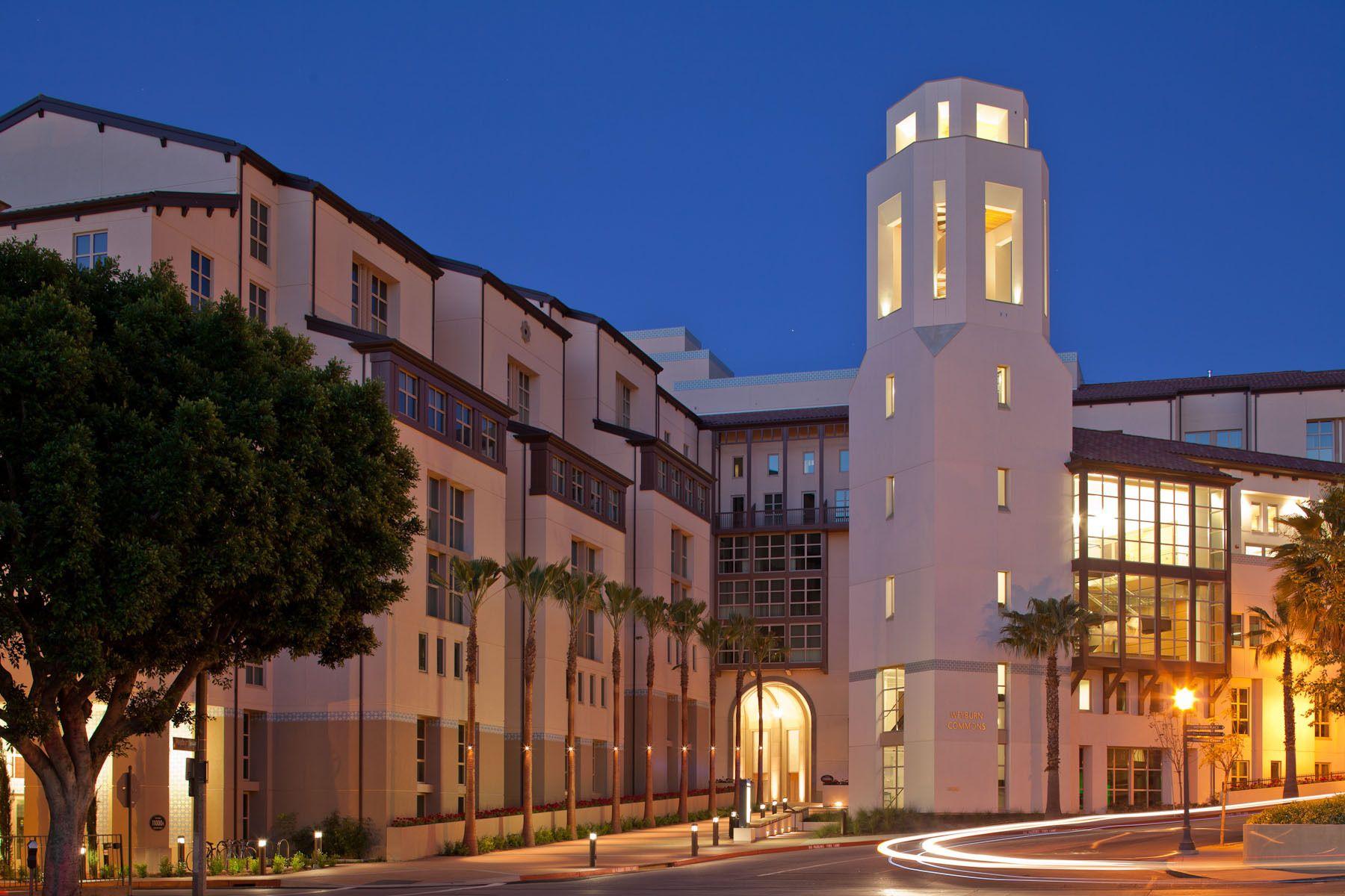 Weyburn Terrace Graduate Housing at UCLA