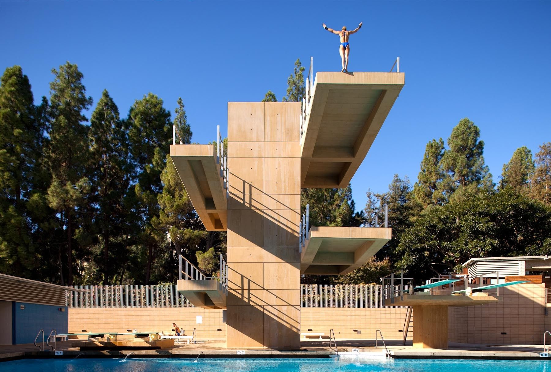 Spieker Aquatics Center UCLA