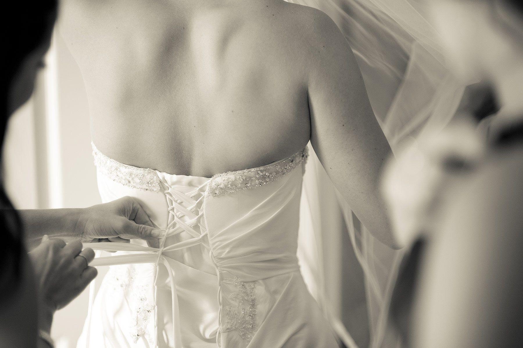 Bridal detail at a Philadelphia Wedding