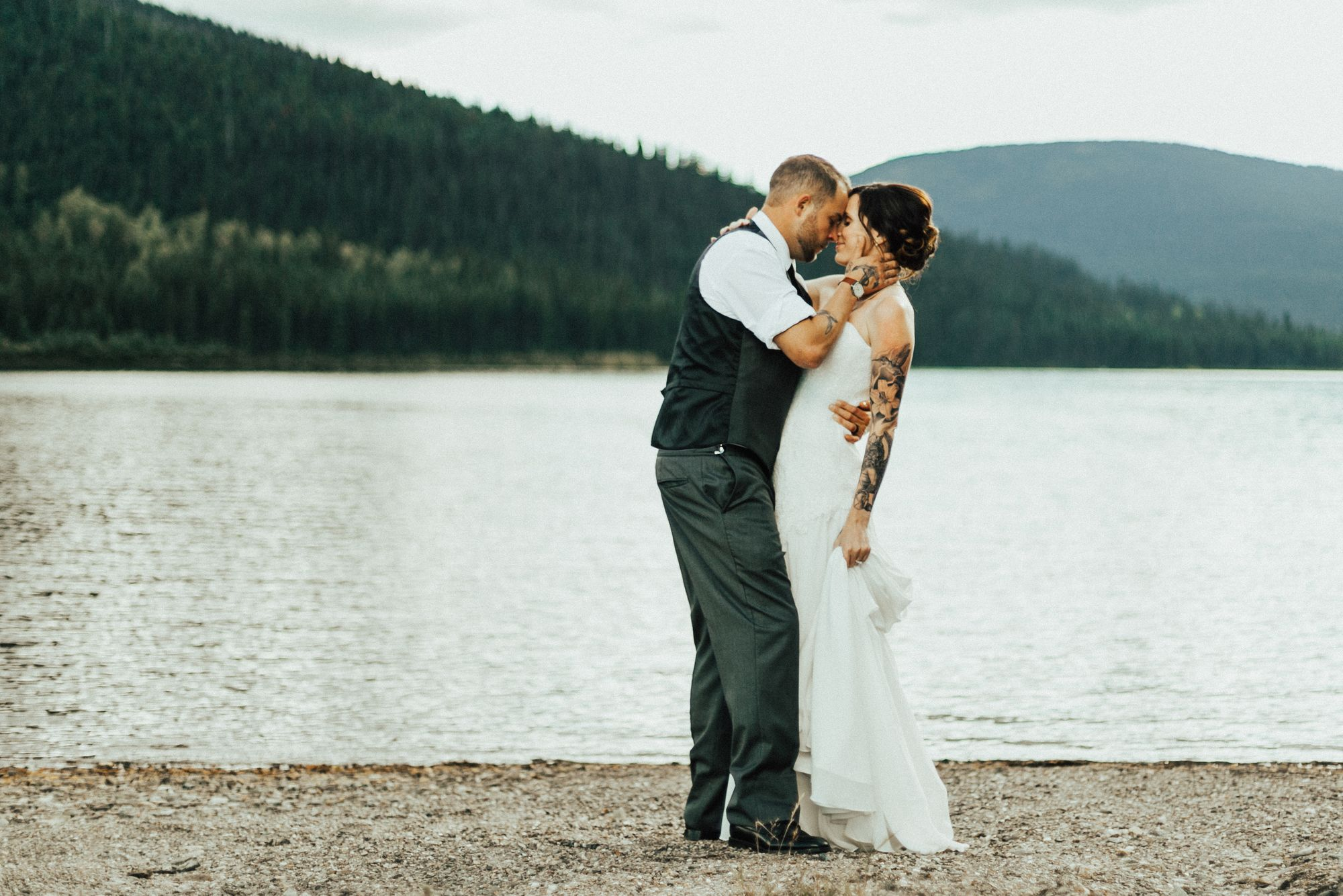Katy + Dave | Barkerville, BC