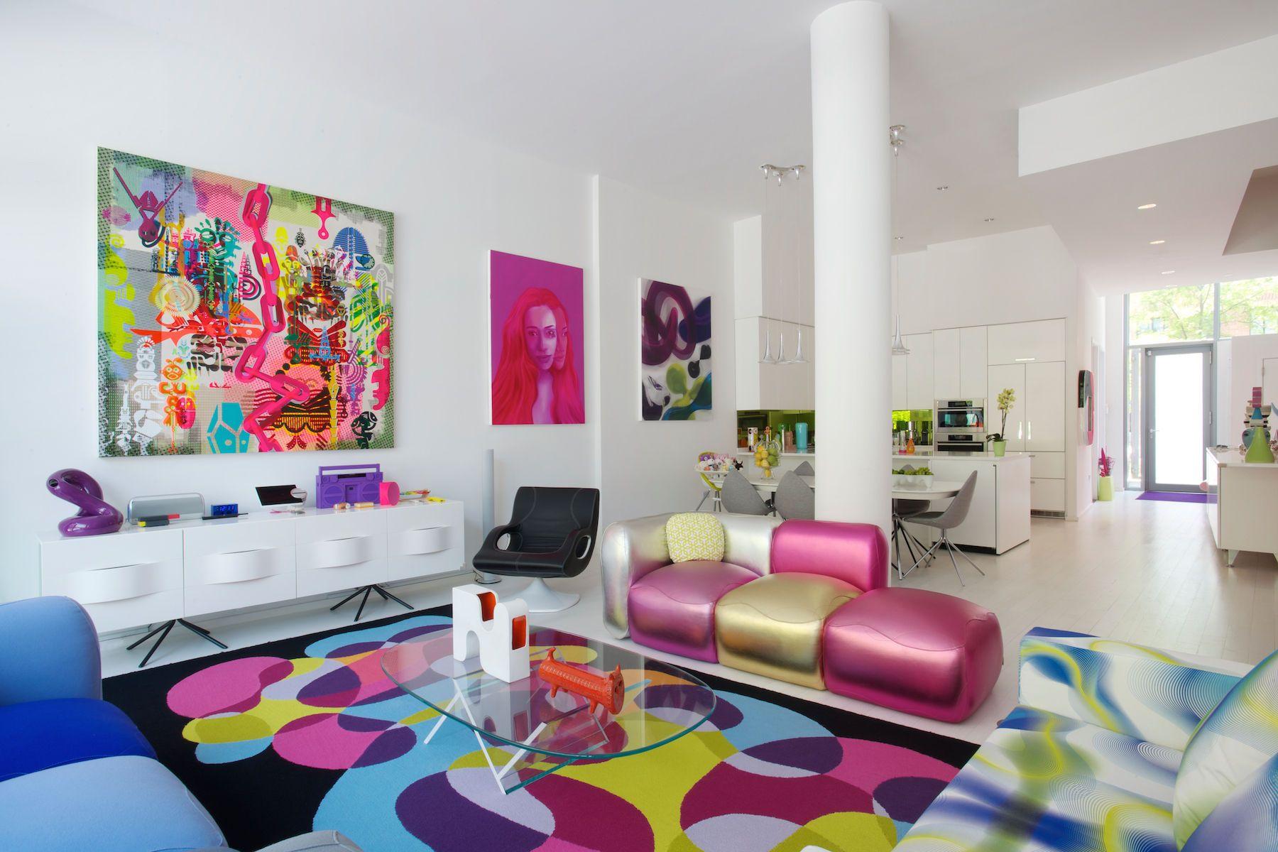 Karim Rashid NYC Home