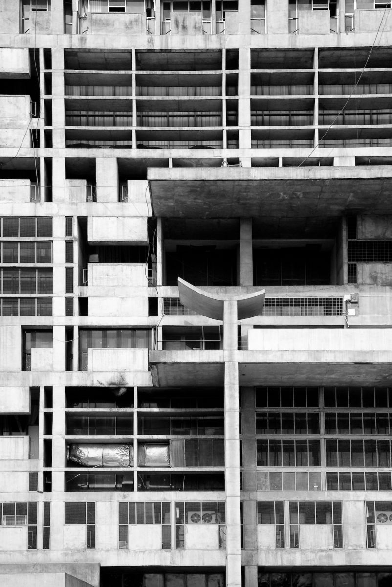 Le Corbusier's Chandigarh - Secretariat