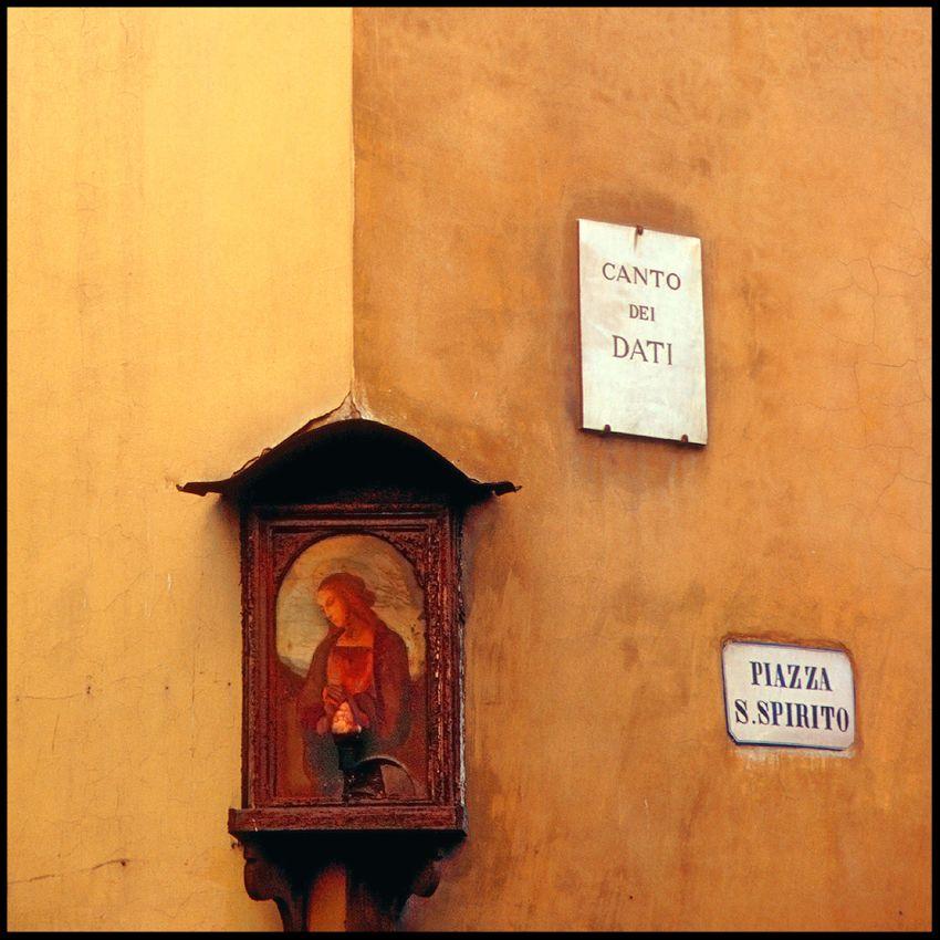 Piazza San Spirito, Florence, 2002