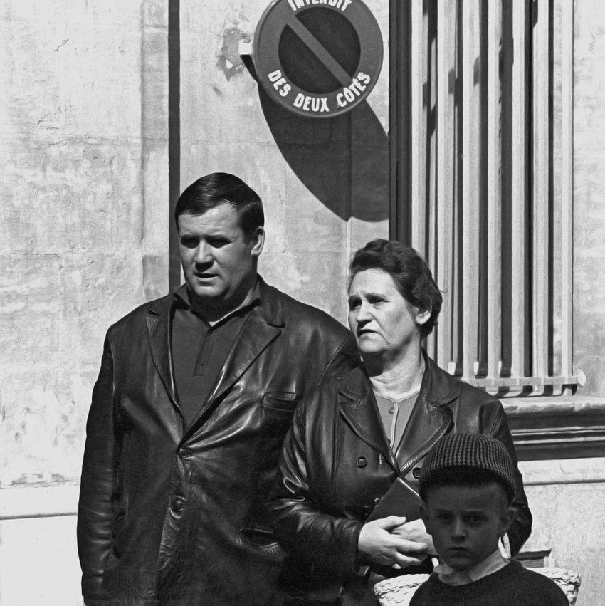 Family, Paris, 1968