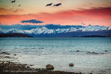 Alpenglow 3, Lake Tekapo
