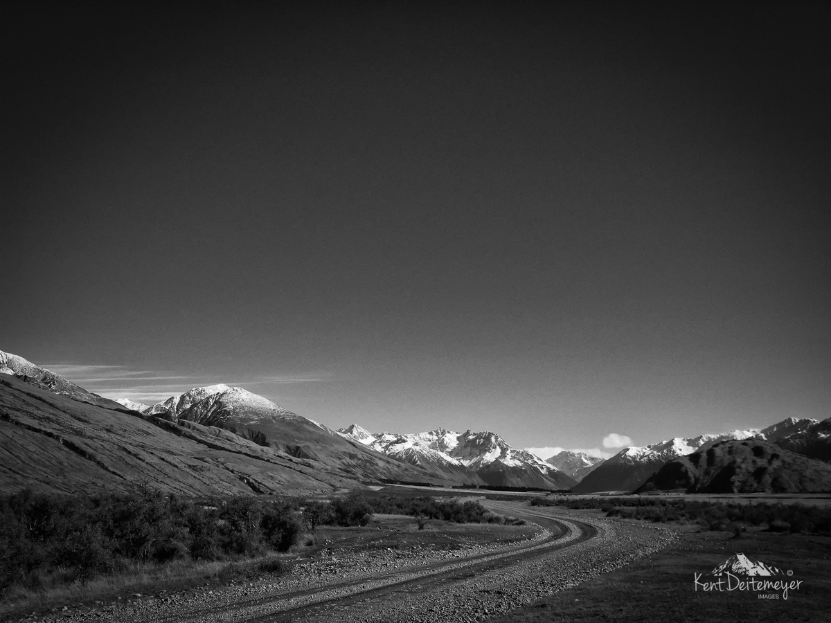 Glenariffe Station and the Southern Alps
