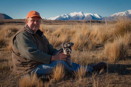Kent Deitemeyer and Raffles  •  Southern Alps, New Zealand