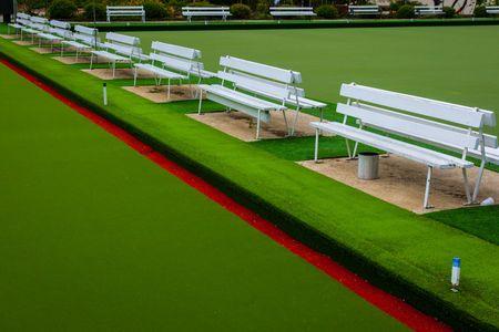 Lawn Bowls, Queenstown  •  New Zealand