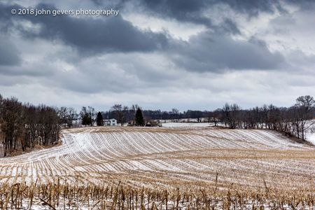 Winter Fields • Steuben County, Indiana