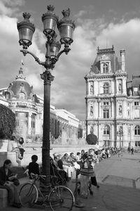 Place de l'Hôtel de Ville • Paris