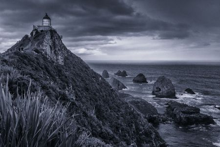 Nugget Point Lighthouse 1  •  The Catlins