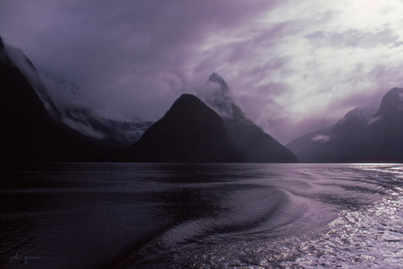 Mitre Peak  •  Milford Sound, New Zealand