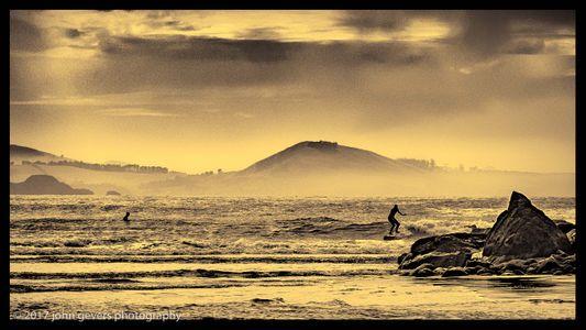 Purakaunui Surfing 1