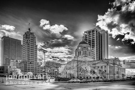 Main Street  B&W •  Fort Wayne, Indiana