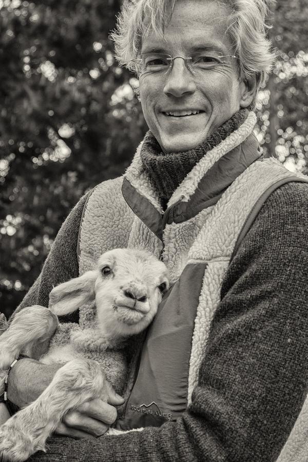 John Gevers with Buddy
