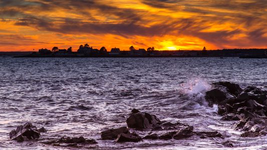 Kennebunk Beach Sunset
