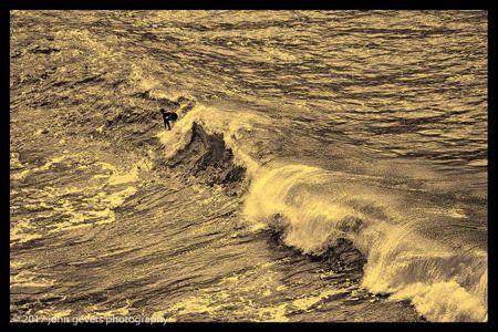 Purakaunui Surfing 2