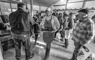 Wood Farms New Year's Day Breakfast  2017