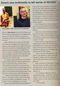 Indiana University School of Journalism quarterly magazine